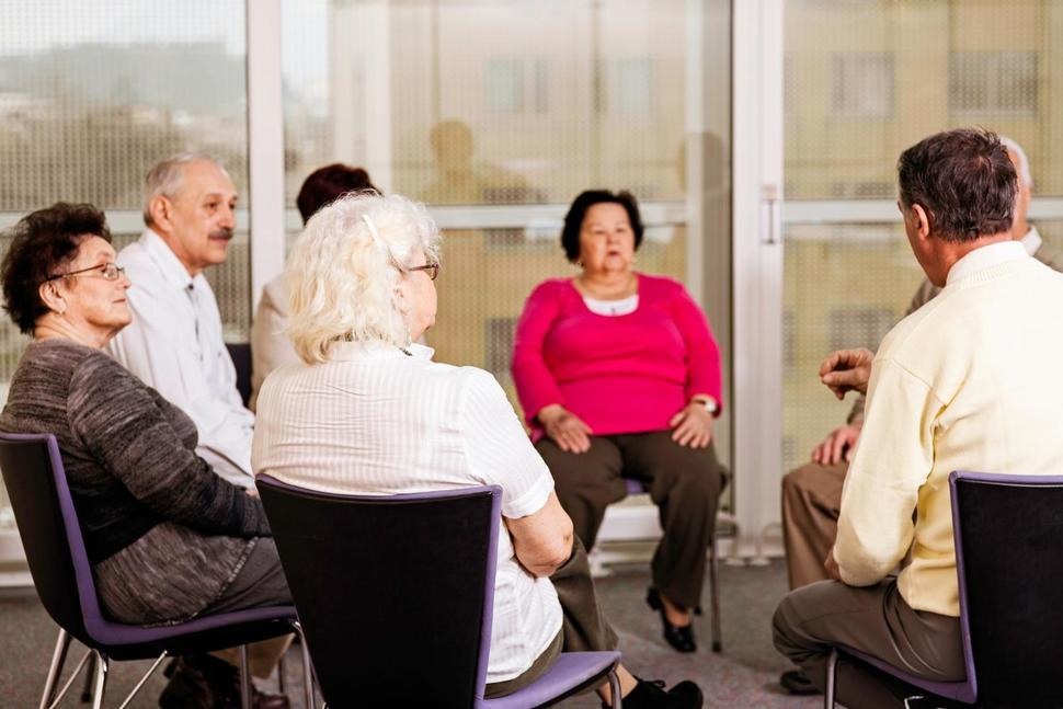 肺癌病友互助小组和支援性社区