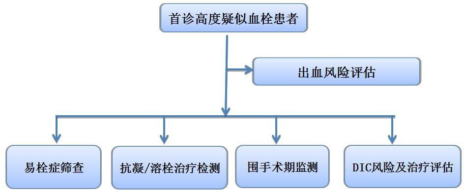 住院患者静脉血栓栓塞症(VTE)诊断流程